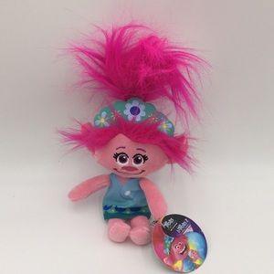 "Trolls World Tour Plush Stuffed Doll Pink 10"" New"